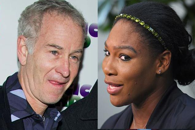 WATCH John McEnroe says he can beat Serena Williams, but would consider playing only if prize money was like the Pacquiao-Mayweather megafight