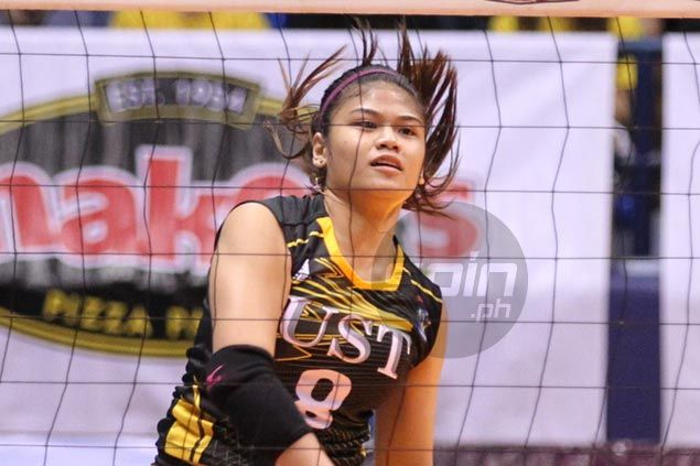Real tears as Mela Tunay ending college career with UST Tigresses on a low note