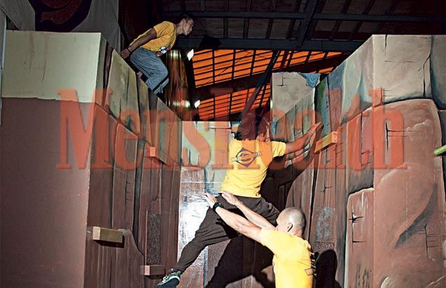 Jumping Jacked: Get stronger than ever with parkour