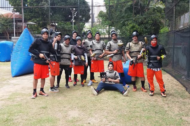 Meralco Bolts target stronger team chemistry with paintball match after practice