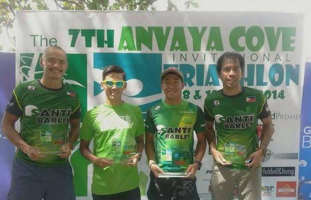 Repeat so sweet for Mervin Santiago in Anvaya Cove Triathlon