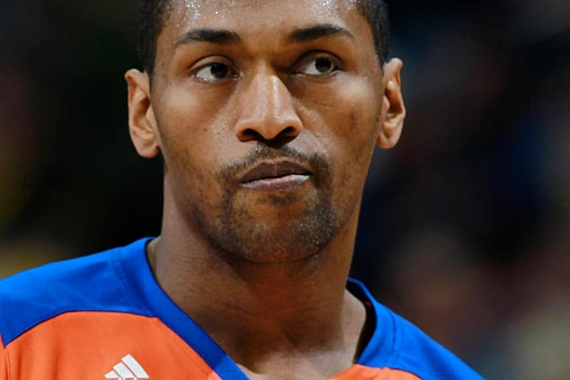Metta World Peace taking part in informal workouts, close to signing deal with Lakers