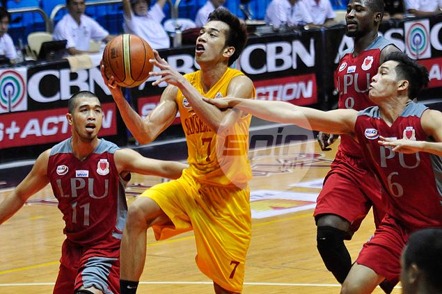 Michael Calisaan's monster double-double helps Stags end slide at expense of Pirates