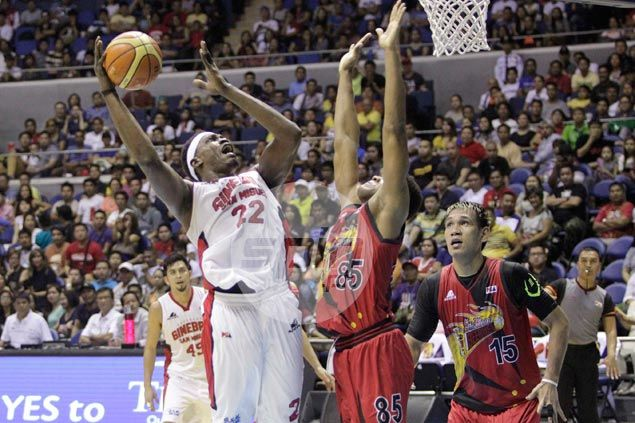 Is import Michael Dunigan back to his best? Ginebra players certainly hope so