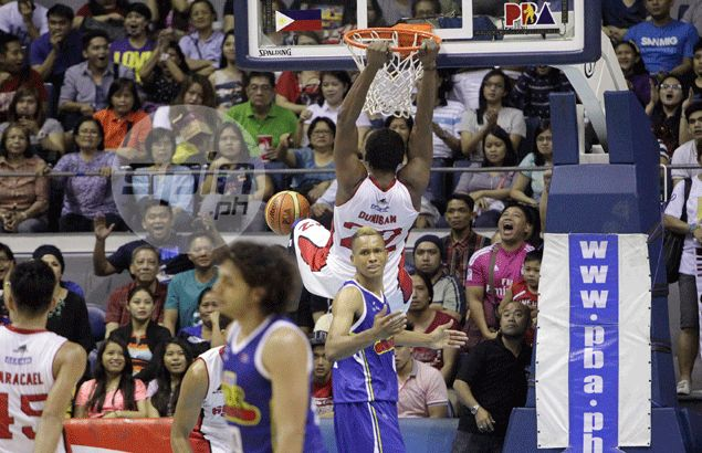 Inspired Ginebra sends defending champ Purefoods reeling to a third straight loss
