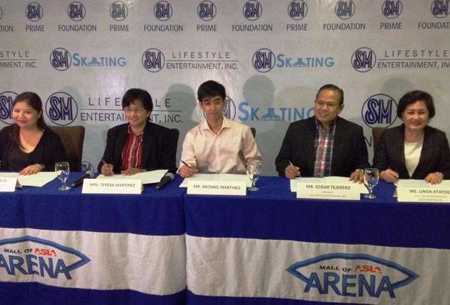 Michael Martinez only Filipino and Southeast Asian to compete in 2014 Skating Grand Prix