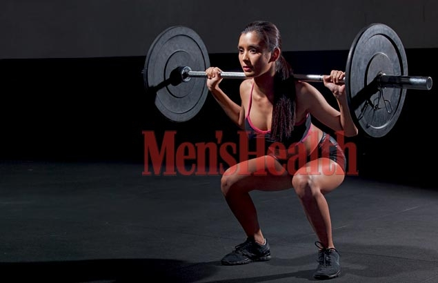 Glamour girl Michelle Madrigal and Cross Fit - a match made in heaven