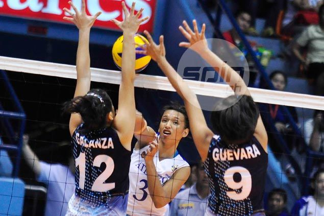 Another straight-sets win for Alyssa Valdez and Ateneo Lady Eagles in UAAP volley
