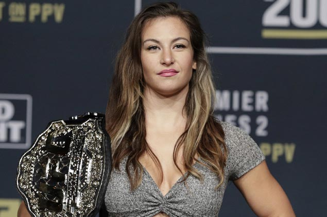 Miesha Tate's current task is Amanda Nunes, but hoping for a third fight with Ronda Rousey