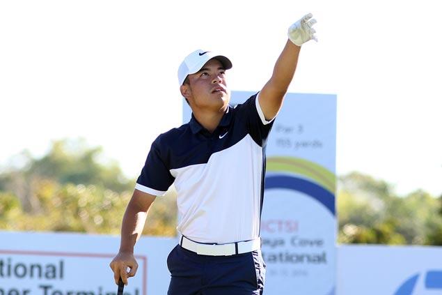 Miguel Tabuena keeps six-stroke lead at PGT Anvaya Invitational