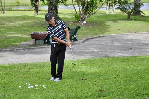 Miguel Tabuena battling fever as rain-shortened Philippine Open gets underway at Luisita