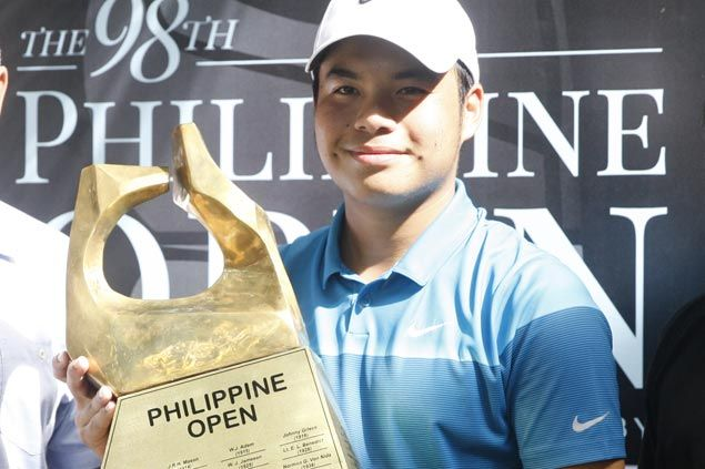 Miguel Tabuena finishes season with a flourish, rules Philippine Open for first Asian Tour title