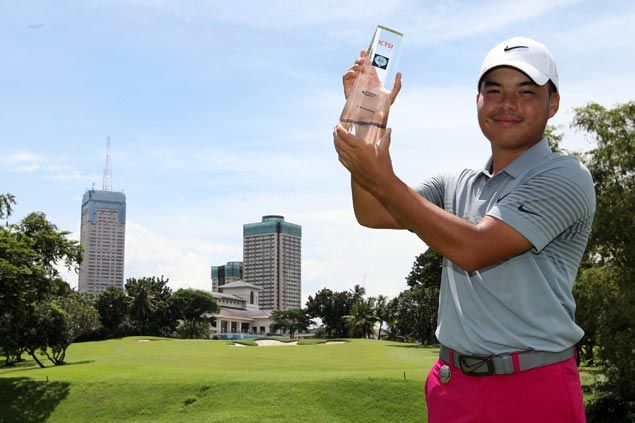 Miguel Tabuena rises from four strokes down to win by four at Wack Wack and regain top spot in PGT money list