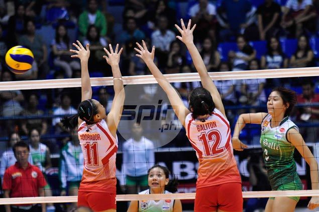 La Salle Lady Spikers whip hapless UE Lady Warriors to stay unbeaten in six matches