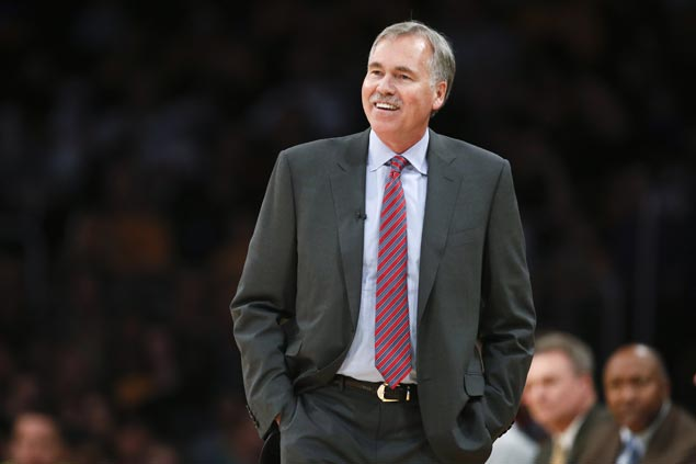 Mike D'Antoni wins Coach of the Year honors for the second time