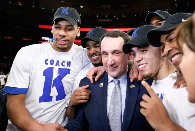 Mike Krzyzewski first NCAA Division I coach to score 1,000 victories as Duke downs St. Johns