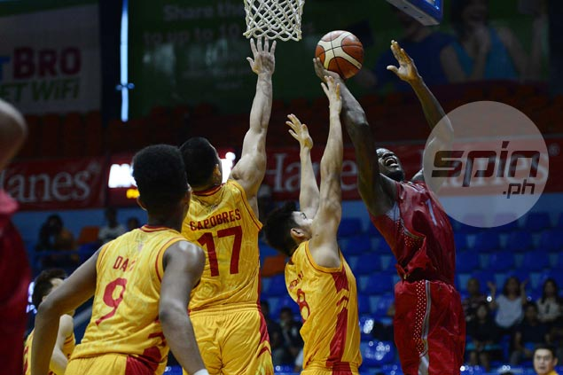 Mike Nzeusseu posts another 20-20 game as Lyceum downs San Sebastian for third straight win