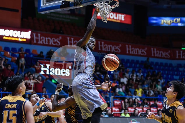 One rebound short of target vs Stags, Nzeusseu looks to haul down 25 against Altas