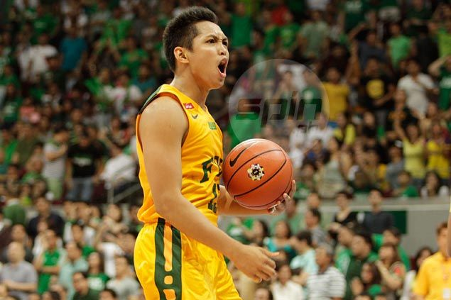 FEU guard Mike Tolomia charting his own path as he steps out of Romeo, Garcia shadows