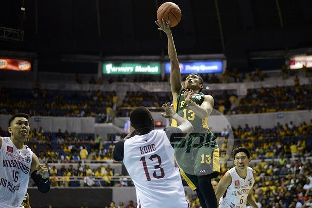 FEU Tamaraws whip skidding UP Maroons for second straight win and share of UAAP lead