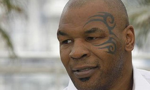 Mike Tyson aids motorcycle rider after crash in Las Vegas