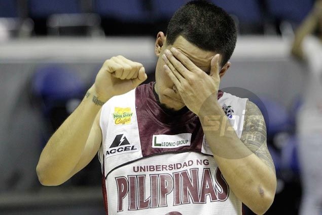 Mikee Reyes takes blame for UP loss to Ateneo after choking from foul line with two missed free throws