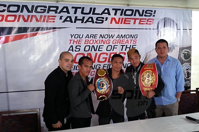 Donnie Nietes thrilled to break Flash Elorde record and become longest-reigning Filipino world champ