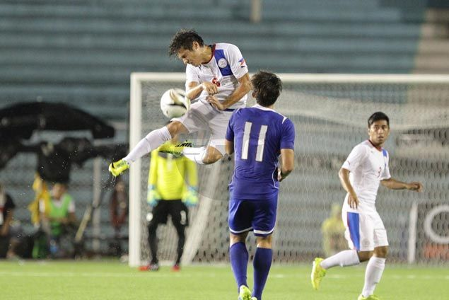 Philippine Azkals roll past Chinese Taipei in rain-delayed Peace Cup match