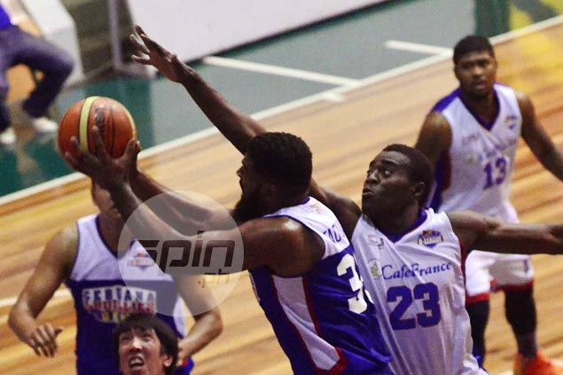 Tautuaa free throw in dying moments caps Gems fightback from 21 points down to beat Bakers