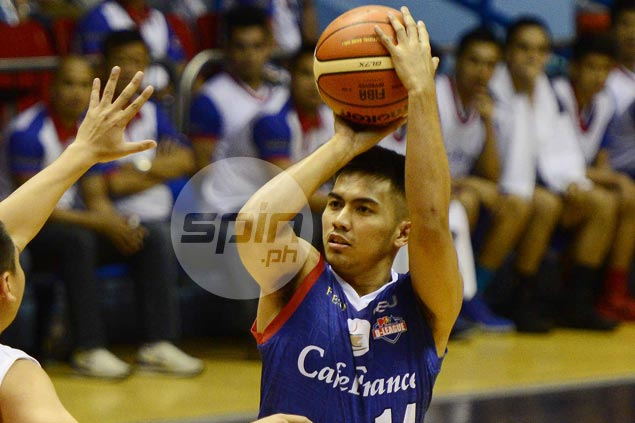 Mon Abundo powers late rally as Cafe France edges Tanduay in Aspirants Cup semis opener