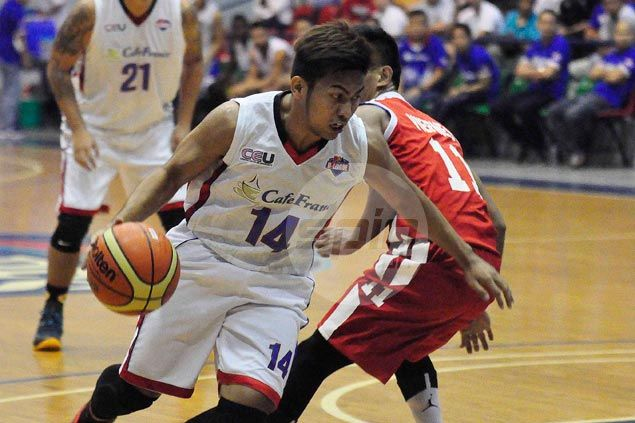 Cafe France downs Racal Motors to grab a share of D-League lead