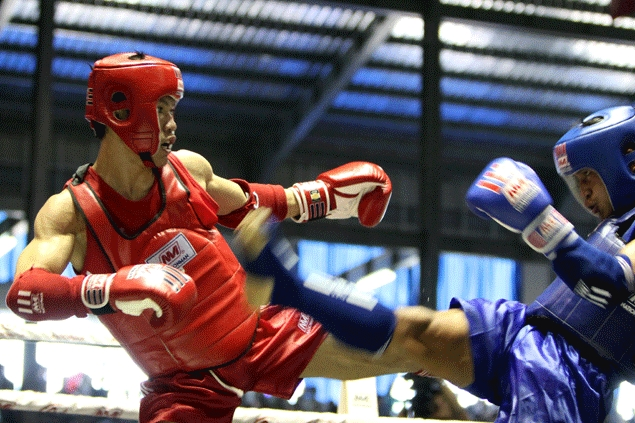 Ocaya edges Laotian rival to win Muay gold in SEA Games
