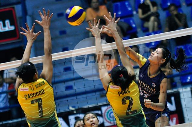 NU Lady Bulldogs move to solo third with quick win over FEU Lady Tamaraws