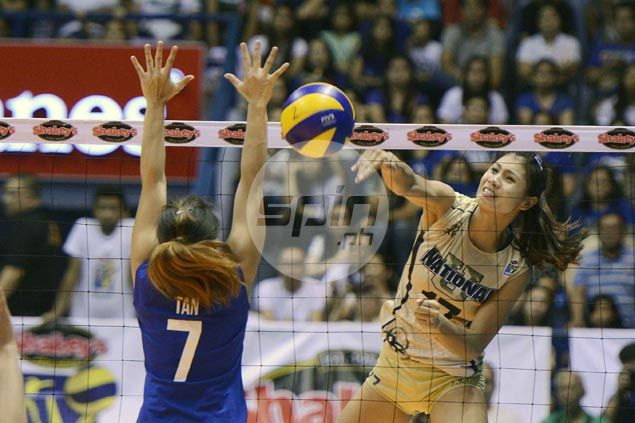 NU Lady Bulldogs stun Ateneo Lady Eagles in three sets to force V-League finals decider