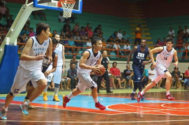 Myongji University turns back Cesafi champion Southwestern U in four-team Cebu tilt