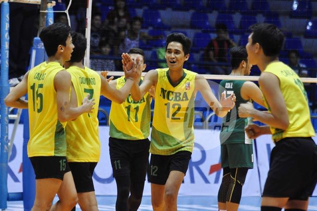 NCBA fights back from two sets down to beat La Salle and gain share of third in Spikers Turf