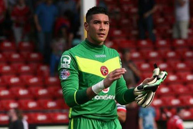 Azkal Neil Etheridge suits up for Walsall FC in League Cup loss to champ Chelsea