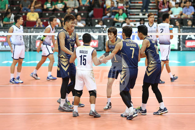 NU Bulldogs survive Adamson Falcons to book fourth straight UAAP volleyball finals appearance
