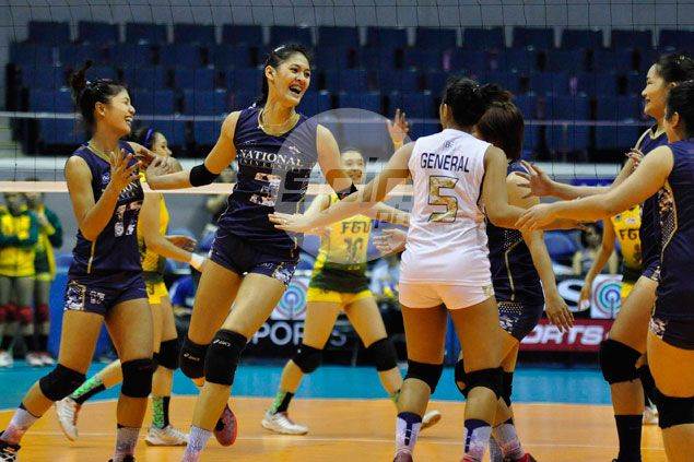 National U survives scare from FEU to move up stepladder playoffs against La Salle