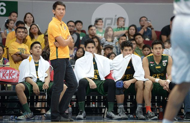 FEU coach Nash Racela rues officiating prevented Tamaraws from playing good defense against Archers