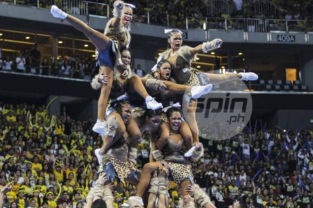 National University bags third straight UAAP Cheer Dance title