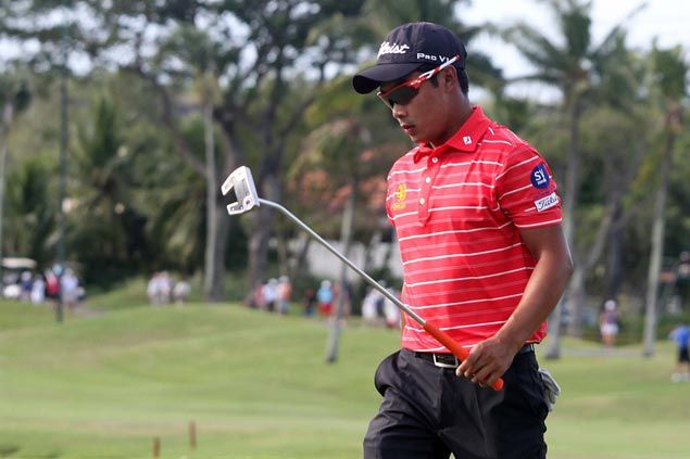 Natipong Srithong bags Asian Tour title just two months into pro career with victory in Manila Masters