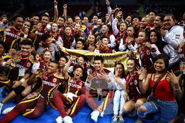 Perpetual Help back on top of NCAA cheerleading, claims ninth title in 12 years