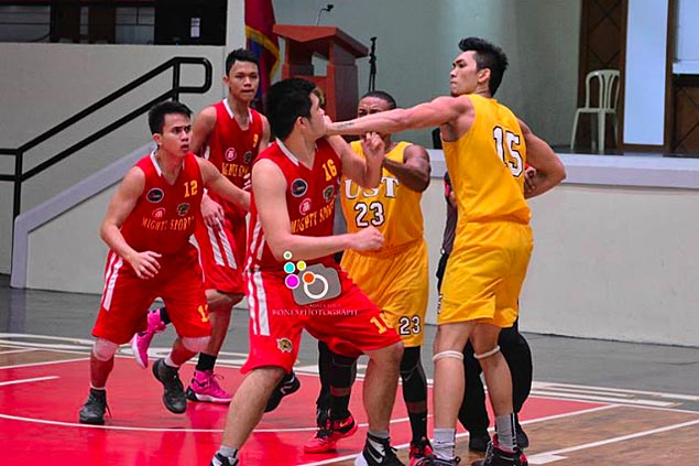 USJR Jaguars rally to beat UST Tigers and win Recoletos de Cebu Cup
