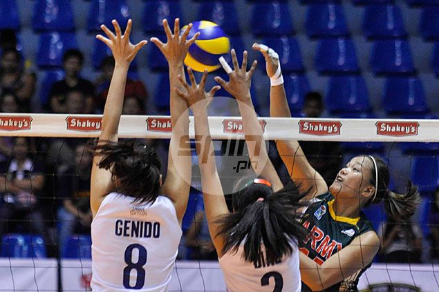 Army back on winning track after demolishing Navy in V-League