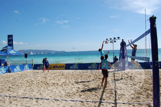 University of Southern Philippines completes back-to-back romp in Nestea Beach Volley