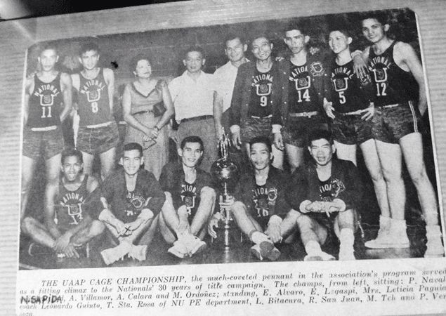 After Nestor Sapida, another member of NU Bulldogs' 1954 UAAP champion team surfaces