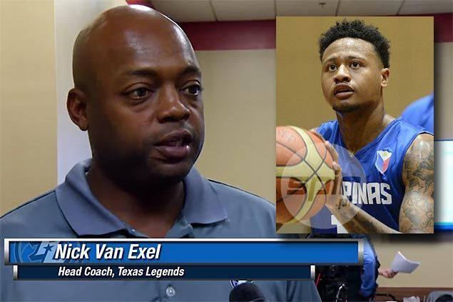 Texas Legends coach Nick Van Exel sees Ray Parks as leader on and off the court in NBA D-League