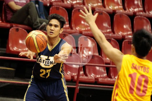 Former Red Cub Nico Abatayo sees action for National U Bulldogs in invitational tournament