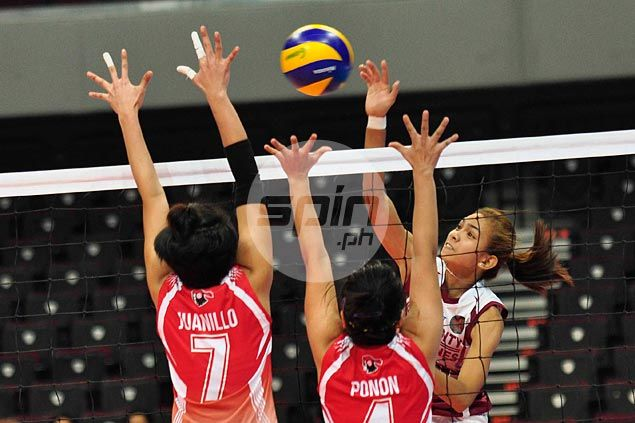Nicole Tiamzon leads way as UP Lady Maroons whip UE Lady Warriors in first match without Kathy Bersola